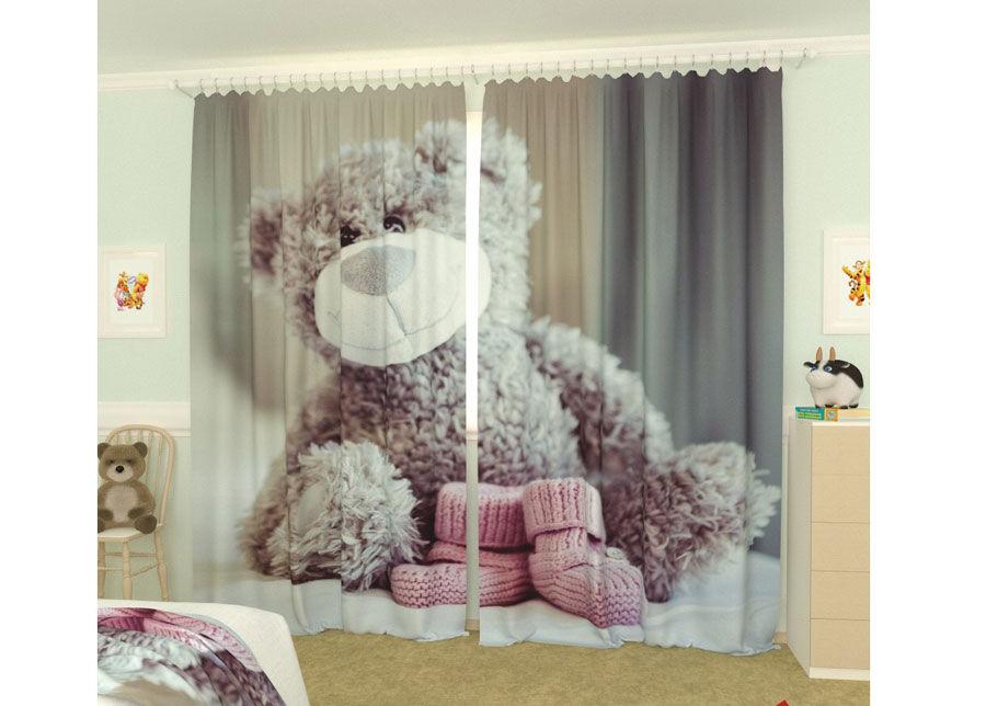 AT-Kodutekstiil Kuvaverhot TEDDY BEAR 300x260 cm