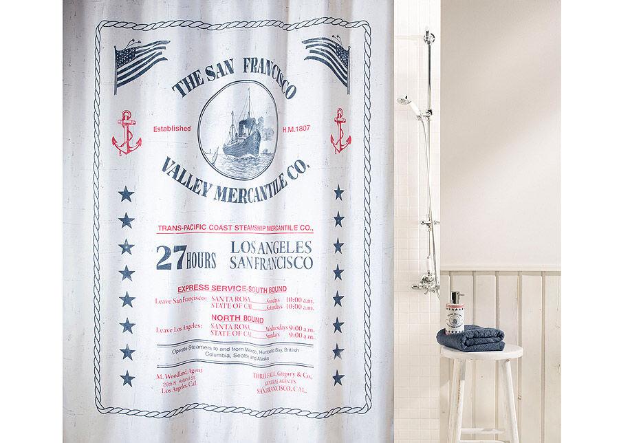 SPIRELLA Tekstiili suihkuverho SPIRELLA SAG HARBOUR