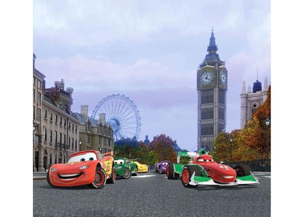 AG Design Fotoverho DISNEY CARS 180x160 cm