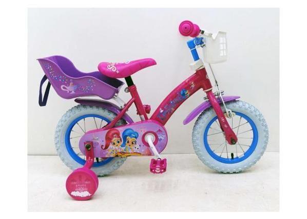 Shimmer & Shine Pikkulasten polkupyörä Shimmer & Shine 12 tuumaa