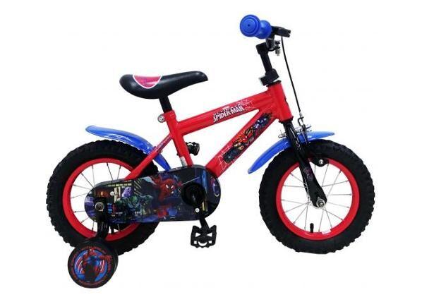 Spiderman Pikkulasten polkupyörä 12 tuumaa käsijarrulla Spiderman