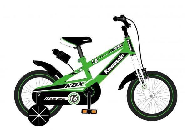 Kawasaki Lasten polkupyörä Kawasaki 16 tuumaa