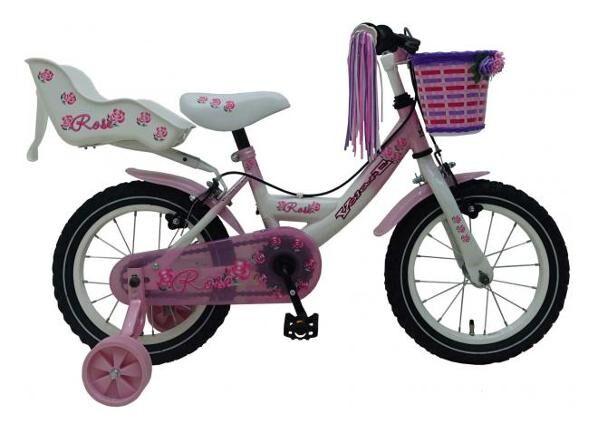 Volare Pikkulasten polkupyörä Volare Rose 14 tuumaa