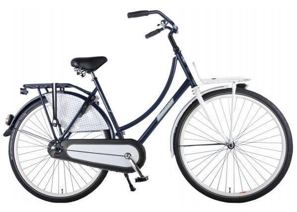 Salutoni Naisten kaupunkipolkupyörä FSALUTONI Dutch oma bicycle Glamour 28 tuumaa 56 cm