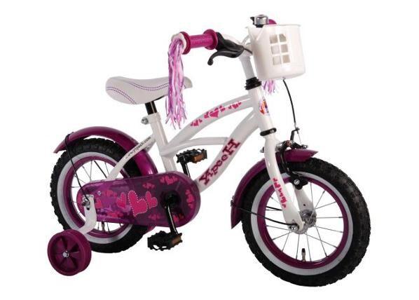 Yipeeh Tyttöjen polkupyörä Heart Cruiser 12 tuumaa Yipeeh
