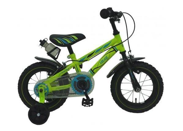 """Yipeeh Poikien polkupyörä Volare Electric Green 12"""""""