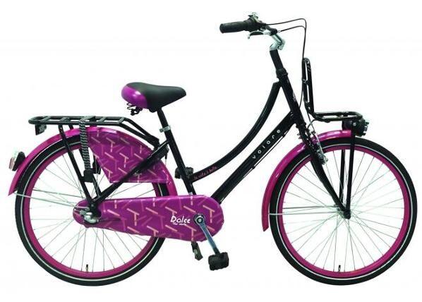Volare Tyttöjen polkupyörä Dolce Shimano Nexus 3 24 tuumaa Volare
