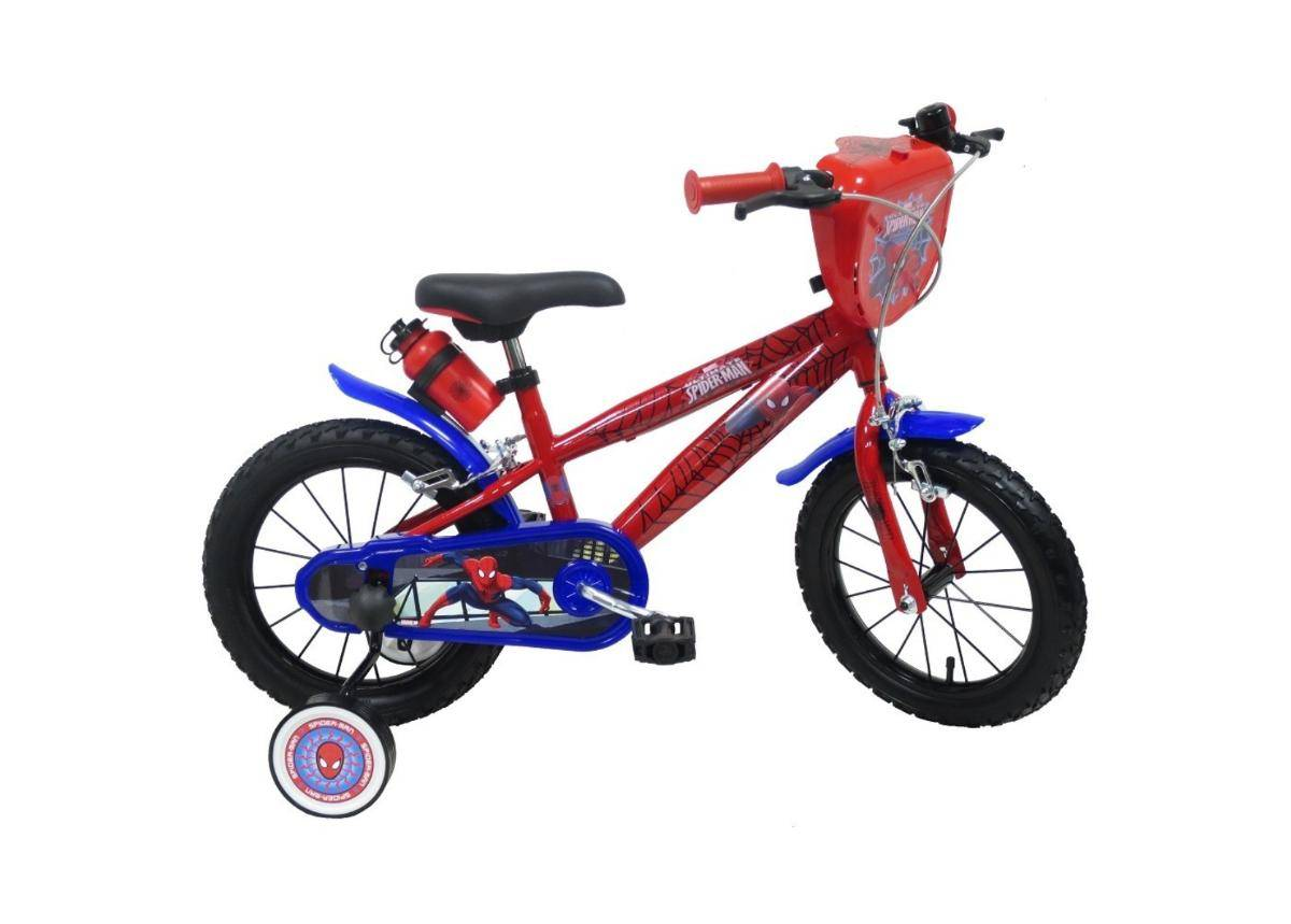 """Spiderman Lasten polkupyörä Spiderman 2244 14"""""""