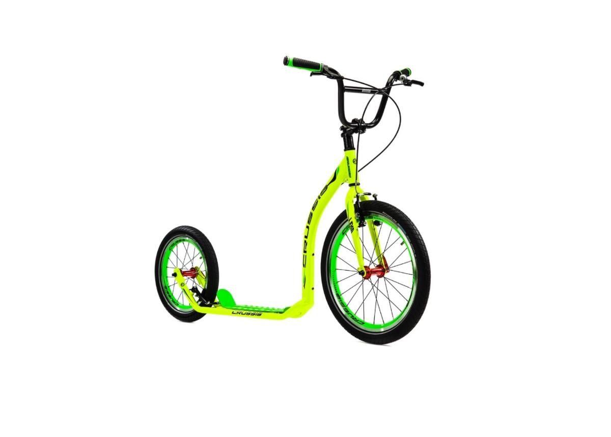 Crussis Potkupyörä Crussis Active 4.1 keltainen-vihreä