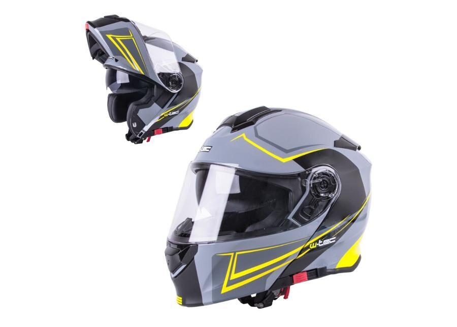 W-Tec Moottoripyöräkypärä Flip-Up W-TEC