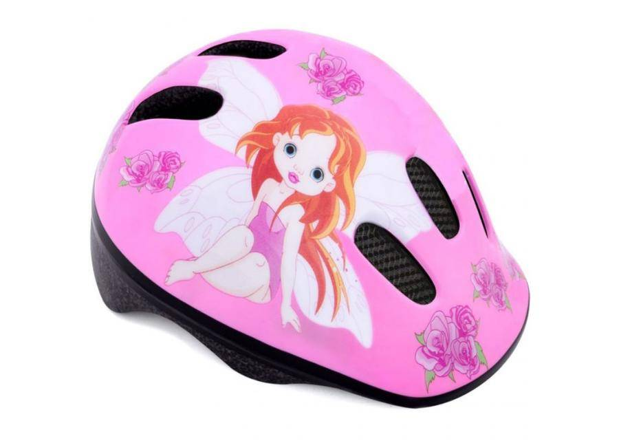 Spokey Lasten pyöräilykypärä Spokey Roses Fairy JR