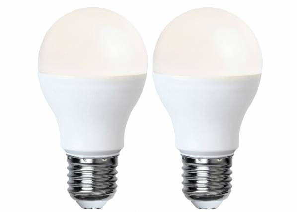 Star Trading LED sähkölamppu E27 5 W, 2 kpl