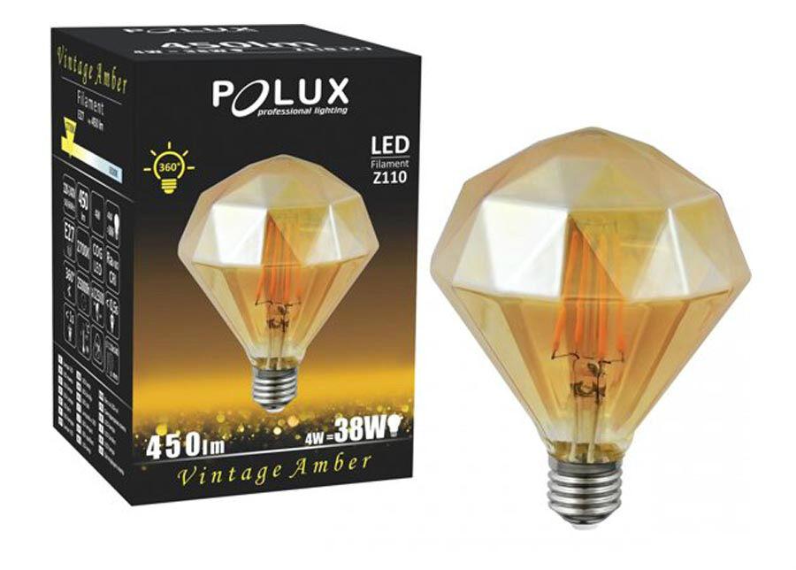 POLUX LED A;BER DIAMOND lamppu 4 W