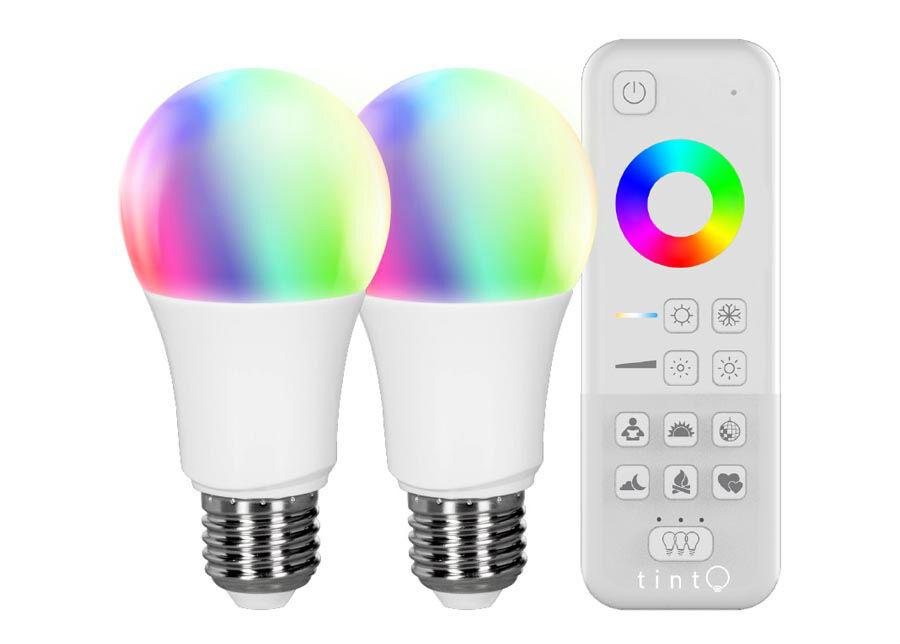 """MÜLLER LICHT LED lamppu """"valkoinen + värillinen"""" + kaukosäädin"""