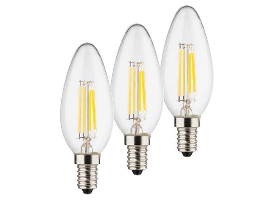 MÜLLER LICHT LED lamppu RETRO E14 4 W 3 kpl