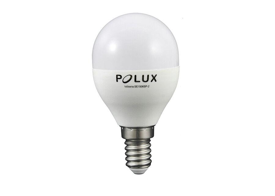 POLUX LED sähkölamppu E14 4,5 W 4 kpl