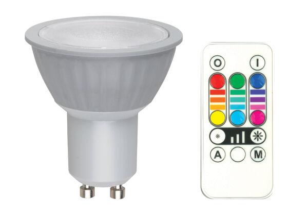Jedi Lighting RGB LED lamppu GU10