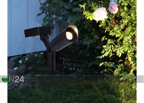 Star Trading Aurinkopaneeli puutarhavalot (2 kpl)