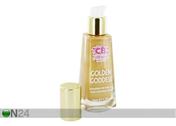 Cocoa Brown Kiiltoa antava ihoöljy GOLDEN GODDESS 50 ml