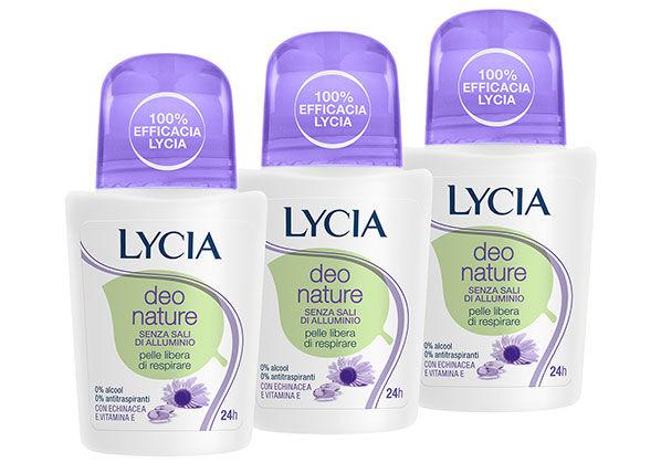 Lycia Roll-on deodorantti LYCIA DEO NATURE 3x50mll