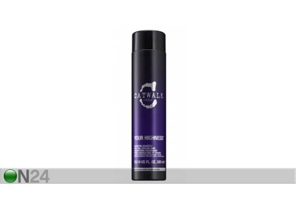 TIGI Volyymia antava shampoo TIGI Catwalk Your Highness Elevating 300ml