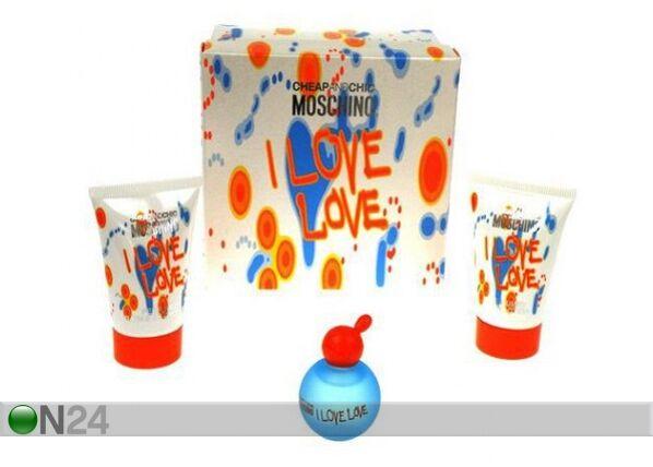 Moschino I Love Love pakkaus
