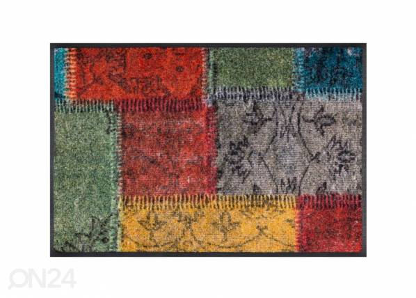 Image of Kleen-Tex Matto VINTAGE PATCHES 50x75 cm