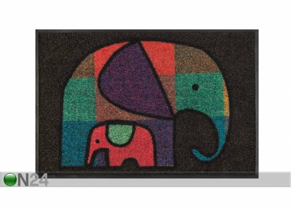 Image of Kleen-Tex Matto ELEPHANT MUM 50x75 cm