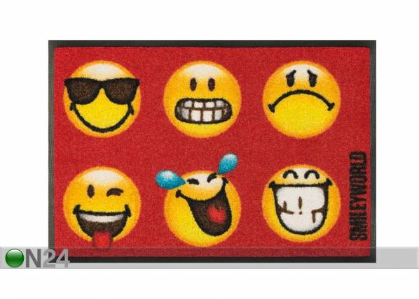 Image of Kleen-Tex Matto SMILEY FACES 40x60 cm