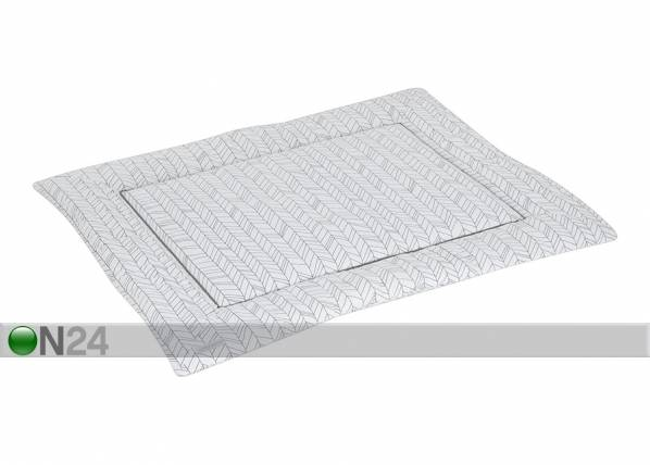 Little Dutch Leikkimatto WHITE LEAVES 80x100 cm