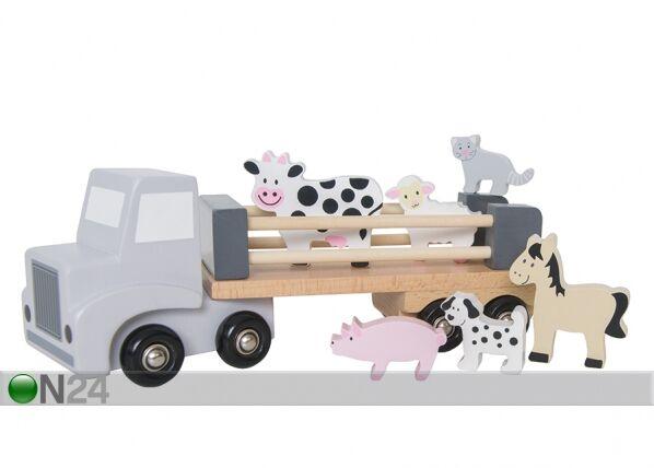 Jabadabado Puinen eläinkuljetusauto