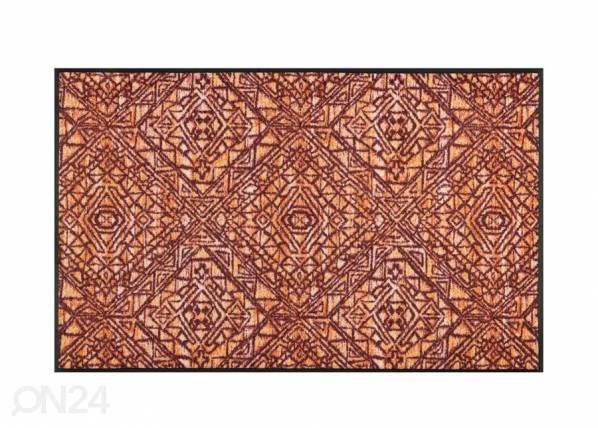 Image of Kleen-Tex Matto Harmony red 75x120 cm