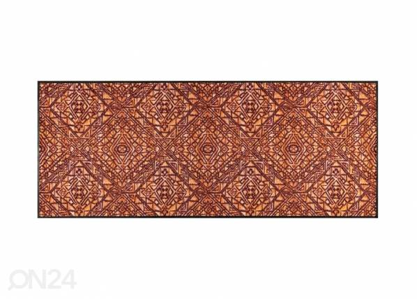 Image of Kleen-Tex Matto Harmony red 75x190 cm