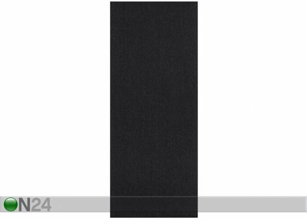 Image of newWeave Narma sileäsidosmatto Bono black 80x150 cm