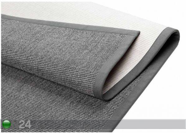 Image of newWeave Narma sisalmatto Livos grey 80x150 cm
