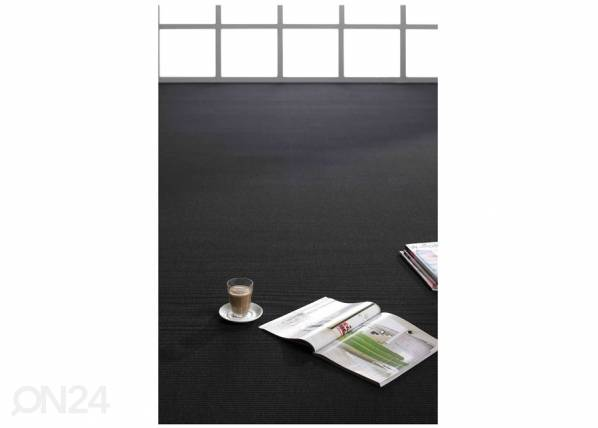 Image of newWeave Narma sileäsidosmatto Credo black 80x150 cm