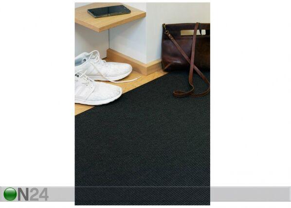 Image of newWeave Narma sileäsidosmatto Limo black 80x150 cm