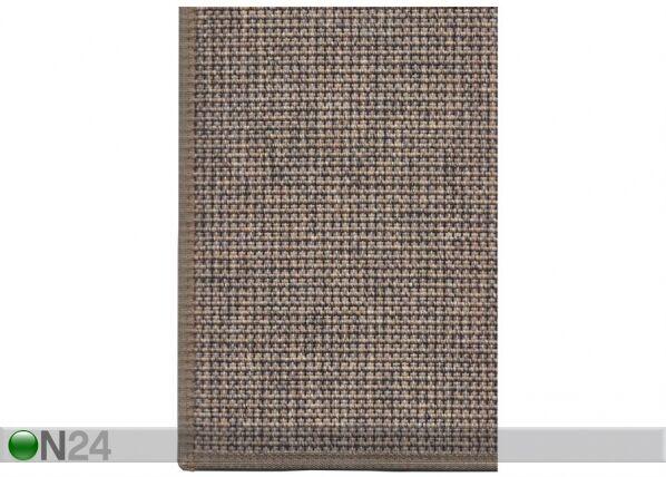 Image of newWeave Narma sileäsidosmatto Limo brown 80x150 cm