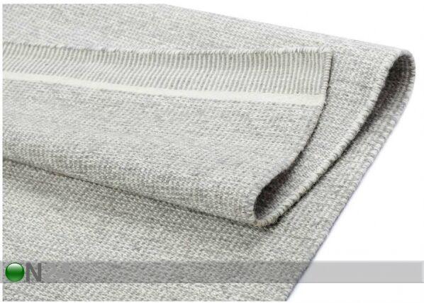 Image of newWeave Narma käsinkudottu villamatto Nummela grey 140x200 cm