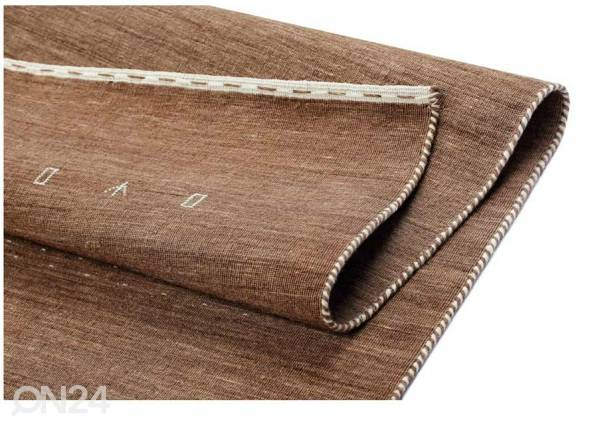 Image of newWeave Narma käsinkudottu villamatto Tornio brown 140x200 cm