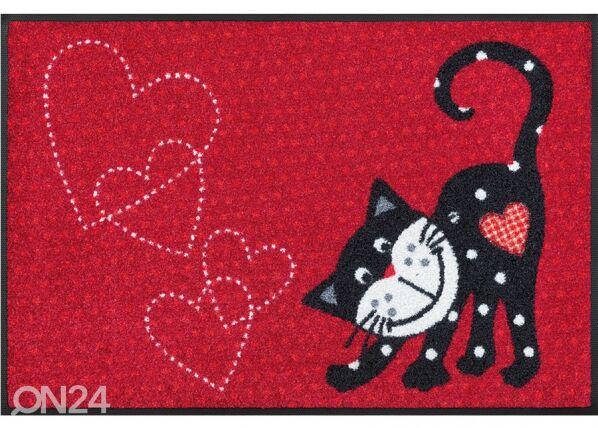 Image of Kleen-Tex Matto ROMEO IN LOVE 50x75 cm
