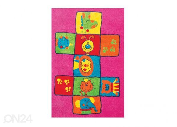 Lasten matto LEIKKI 160x230 cm