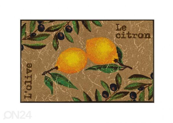 Image of Kleen-Tex Matto LE CITRON 75x120 cm