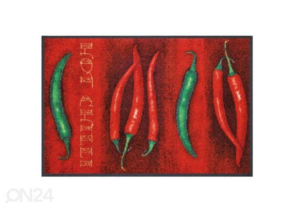 Image of Kleen-Tex Matto HOT CHILI 75x120 cm