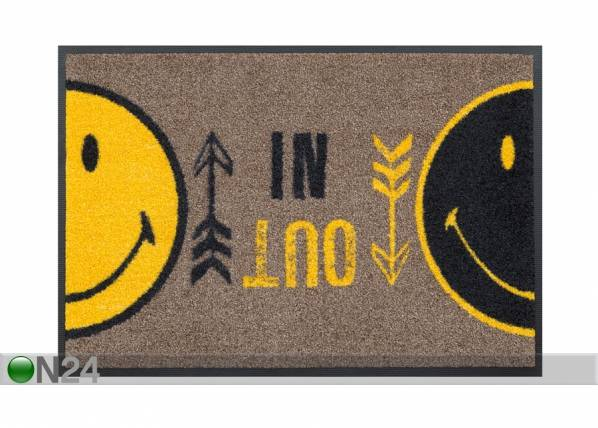 Image of Kleen-Tex Matto SMILEY IN OUT 40x60 cm