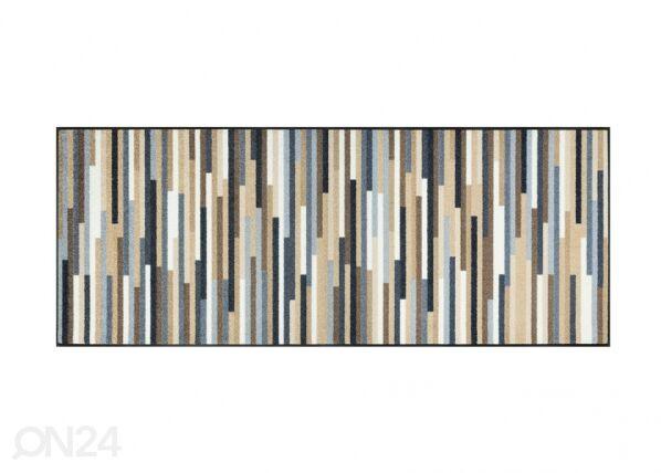 Kleen-Tex Matto MIKADO STRIPES NATURE 75x190 cm