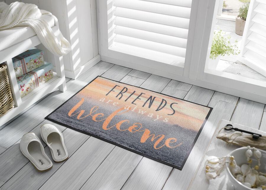 Kleen-Tex Matto WELCOME FRIENDS 50x75 cm
