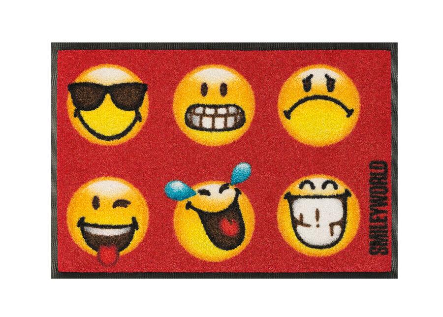Image of Kleen-Tex Matto SMILEY FACES 40x60 cm