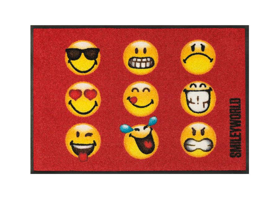 Image of Kleen-Tex Matto SMILEY FACES 50x75 cm