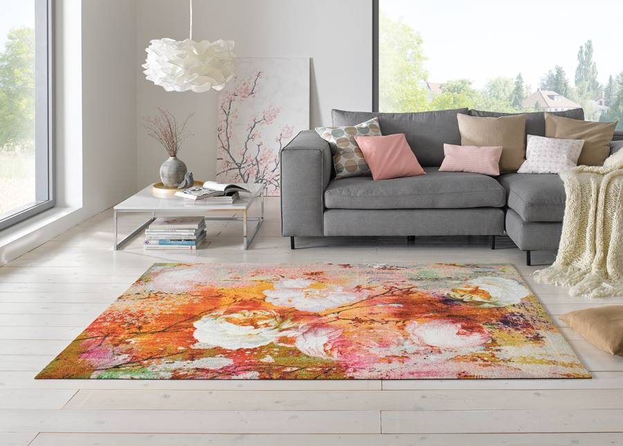 Image of Kleen-Tex Matto LOVING ROSE 140x200 cm
